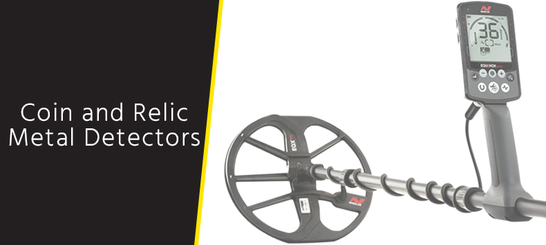 Coin & Relic Metal Detectors