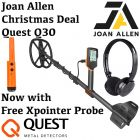 QUEST Q30 METAL DETECTOR WITH FREE XPOINTER PROBE