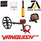 MINELAB VANQUISH 540 CHRISTMAS OFFER WITH PRO FIND 20 PINPOINT PROBE