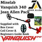 MINELAB VANQUISH 340 JOAN ALLEN  PACK