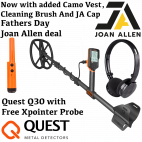 QUEST Q30 FATHERS DAY OFFER WITH VEST, PROBE, BRUSH & CAP
