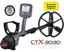 MINELAB CTX 3030 METAL DETECTOR (SUPER VALUE PACK)