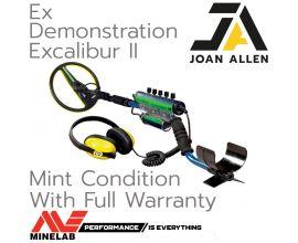 Minelab Excalibur II Ex Demonstration