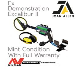 EX DEMONSTRATION MINELAB EXCALIBUR II