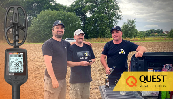 Questing For Fun in The Fields – Field trial, Quest X10 and a whole lot more than anyone imagined.
